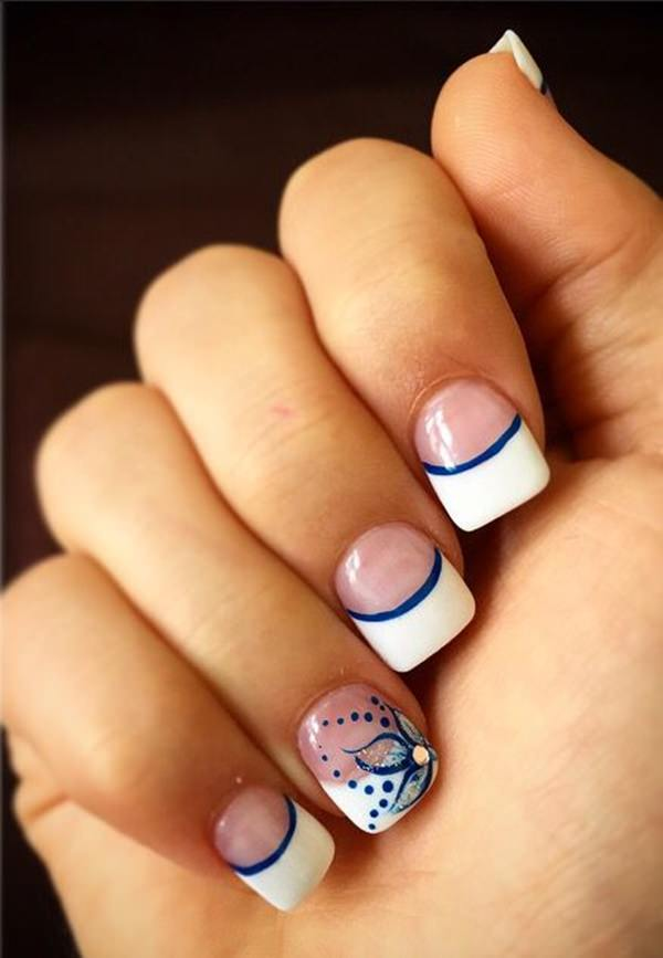 Nails French Tip Nail Designs 1