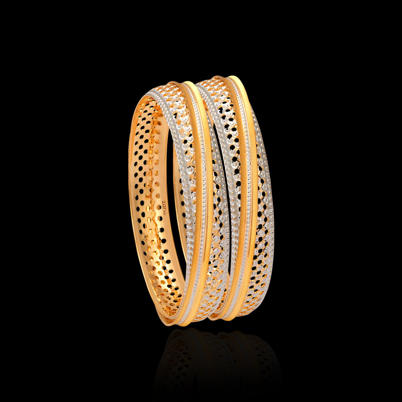 Because pure gold is very soft and easily marred, it is often alloyed with because gold is an element, a lump of pure gold contains nothing but gold atoms. Gold Bangles Designer Jewellery For Women Zar Jewels