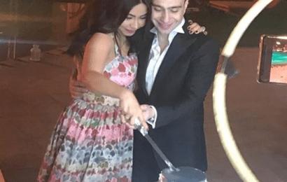 زواج شيرين عبد الوهاب من المغني حسام حبيب وأول تعليق لها بعد الزواج