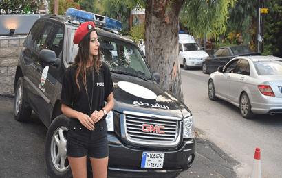 شرطيات بالشورت في لبنان !