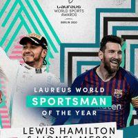 Laureus premia a los mejores deportistas  del mundo y fueron elegidos como deportistas del año a Lionel Messi y Lewis Hamilton