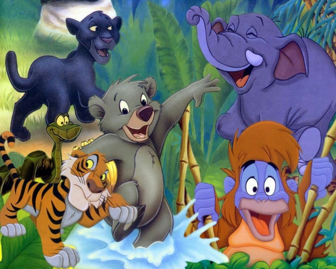 The Jungle Book Cartoons