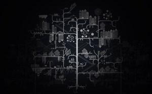 Circuit diagram wallpaper | Wallpaper Wide HD