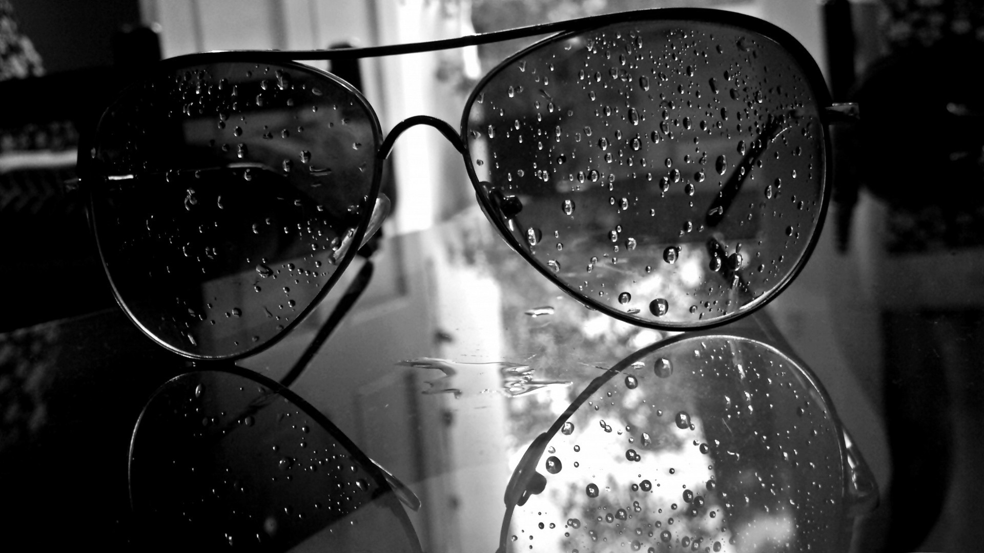 Image result for droplets on sunglasses