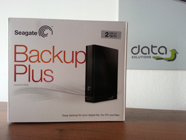 Seagate Backup Plus 2TB - Data Solutions Laboratorija
