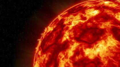 燃える 太陽