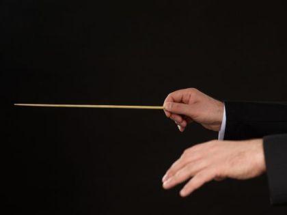 指揮者と 指揮棒