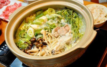 鍋料理と ポン酢
