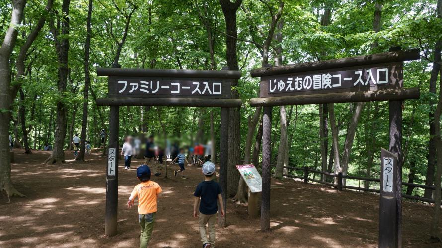 【アンデルセン公園】アスレチックファミリーコース