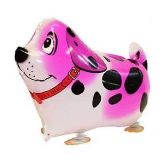 Ballonhund Ballonfigur Hund pink
