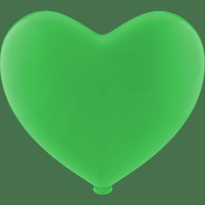 Herz - Ballon Farbe Apfelgrün