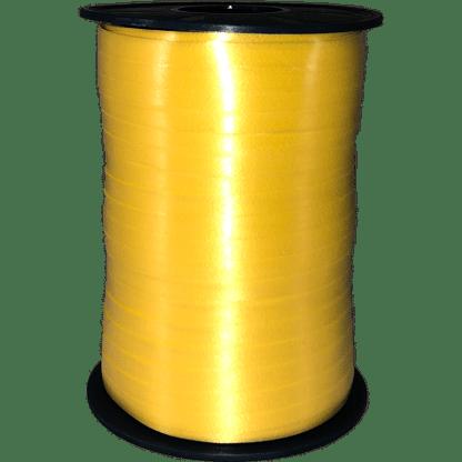 Polyband Geschenkband Gelb
