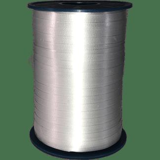Ballonband Ribbon Band 5 mm Silber