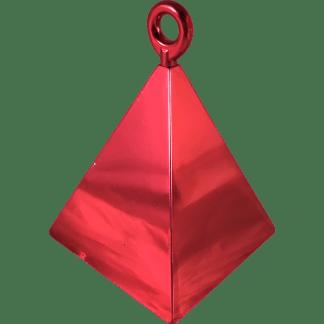 Ballongewicht Pyramide Rot 110g