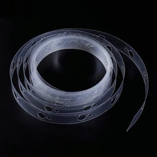 Ballon Girlandenband Lochband 5 Meter transparent