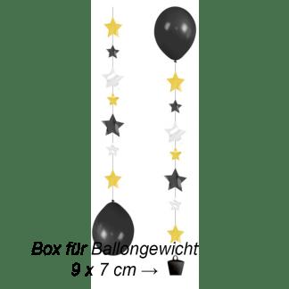Ballon Hänger Tails Sterne 3er Pack