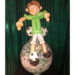 Geburtstagsballon Fußballer