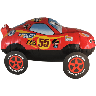 Kinder Auto Folienballon Airwalker