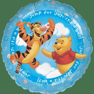 Geburt Mädchen Tigger Winnie Pooh Blau