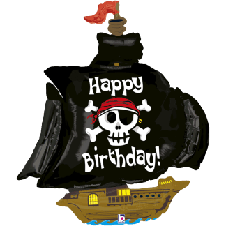 Piratenschiff Happy Birthday