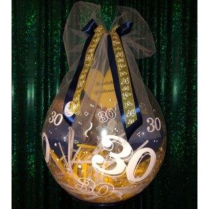 Geburtstagsballon 30. Geburtstag
