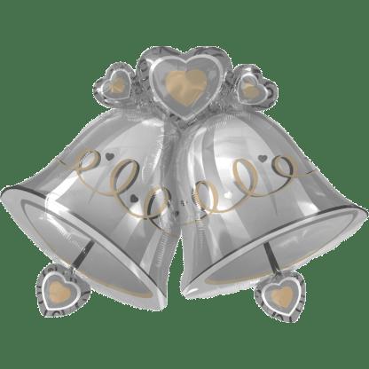 Folienballon Hochzeit Glocken Ballon Heliumballon heiraten