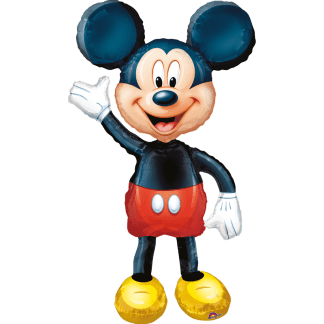 Mickey Mouse Figur Airwalker Folienballon Heliumballon Ballon