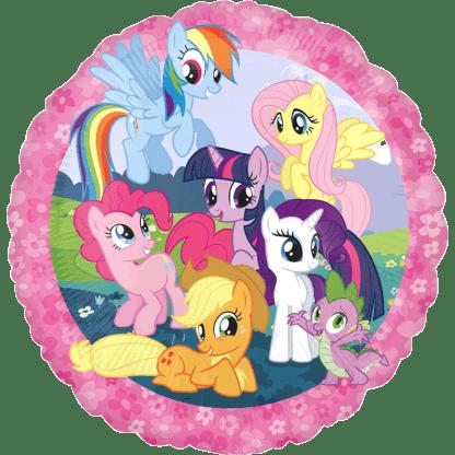 My Little Pony Folienballon Pinkie Rainbow Twilight Spike Celestria