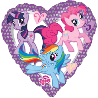 My Little Pony Folienballon Geburtstag