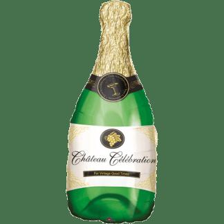 Ballon Champagner / Sekt Flasche