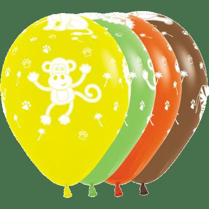 Sempertex Ballon Jungel Tiere