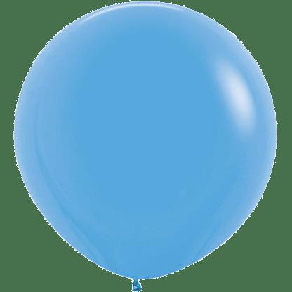 Sempertex Rundballon 90 cm Blau