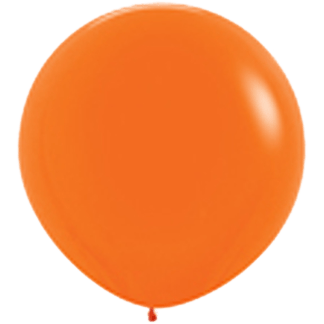 Sempertex Rundballon 90 cm Orange