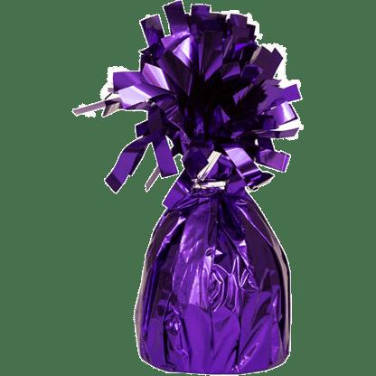 Heliumballons Ballongewicht Folie Violet