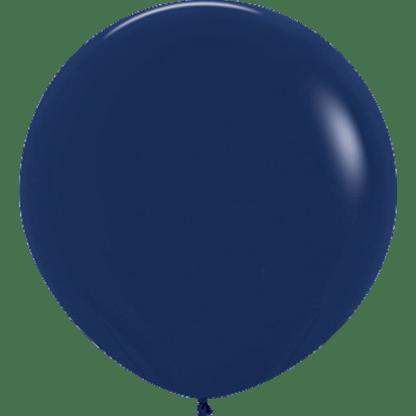 Sempertex Europe Rundballon Navy Blue 36 Inch