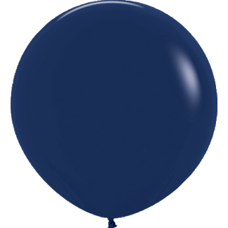 Sempertex Europe Rundballon Navy Blue 36 Inch