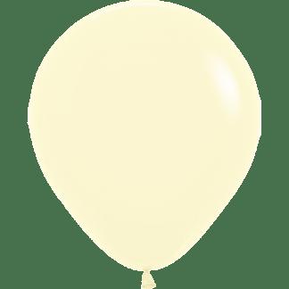 Sempertex Ballons Pastell Matte Yelow