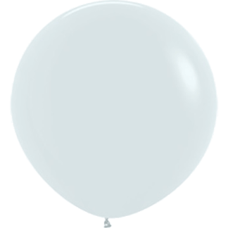 Sempertex Europe Rundballon White 24 Inch