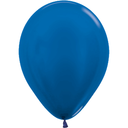 Sempertex Ballons Metallic Blue