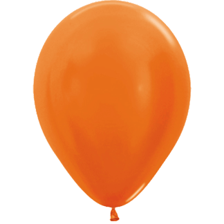 Sempertex Ballons Metallic Orange