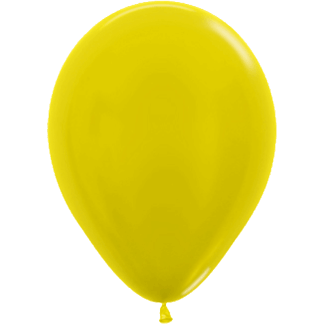 Sempertex Ballons Metallic Yellow
