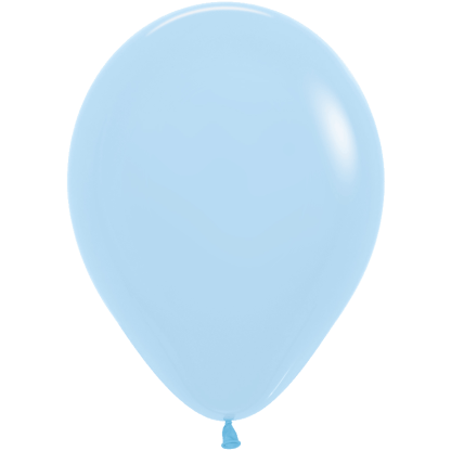 Sempertex Ballons Pastell Matte Blau