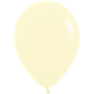 Sempertex Ballons Pastell Matte Yellow