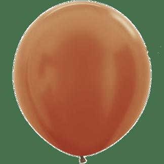 Sempertex Ballons Metallic Kupfer 45 cm