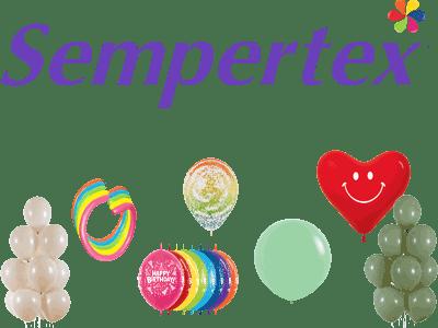 Sempertex Europe Ballons Modellierballons Rundballons bedruckte LOL