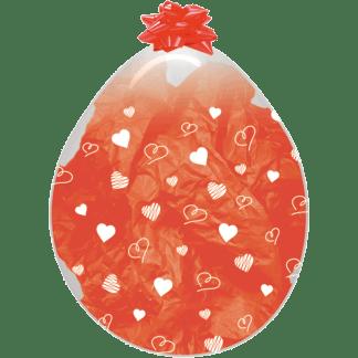 Sempertex Verpackungsballon Herzen