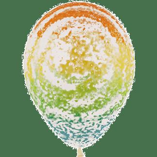 Sempertex Graffiti Ballon Regenbogen Clear