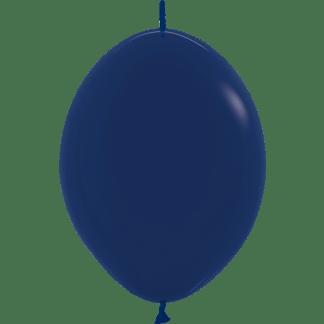 Sempertex Link O Loon 30 cm Navy Blau
