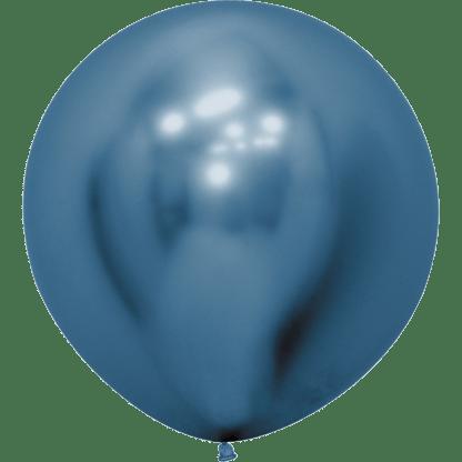 Sempertex Rundballon Reflex Blau