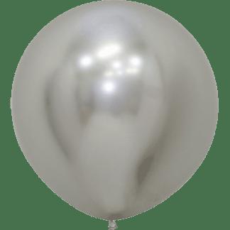 Sempertex Ballons Reflex Silber 60 cm